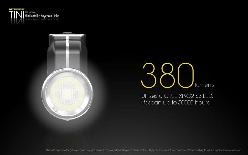 LED kľúčenka Nitecore TINI - Strieborná - iLed.sk 7952d527da6