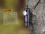 LED baterka Fenix LD15R - USB nabíjateľná + Li-ion aku. Fenix RCR123 700mAh 3,7V