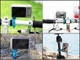 Montáž na svietidlo pre foto-video-bicykel