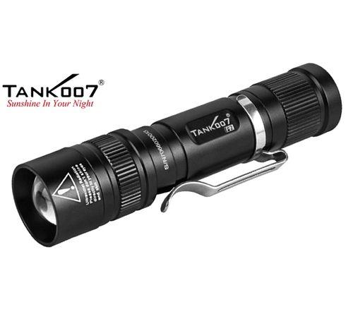 LED Baterka Tank007 F2, Biela + UV LED