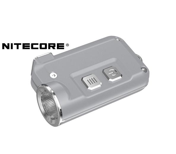 LED kľúčenka Nitecore TINI - Strieborná zväčšiť obrázok 4a28422e336