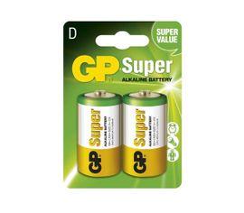 Batéria GP alkalická D, 2ks/ Blister