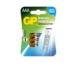 Batéria GP alkalická do diaľ. ovl. AAA, 4ks/ Blister