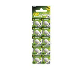 Batéria GP alkalická gombíková 186, 10ks/ Blister