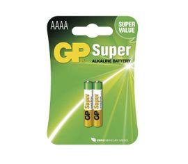Batéria GP alkalická špeciálna 25A 1,5V AAAA, 2ks/ Bl.