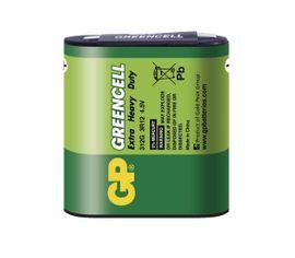 Batéria GP GREENCELL 4,5 V plochá, 1ks/ Fólia