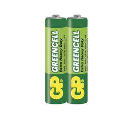 Batéria GP GREENCELL AAA, 2ks/ Fólia