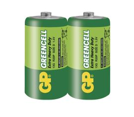 Batéria GP GREENCELL D, 2ks/ Fólia