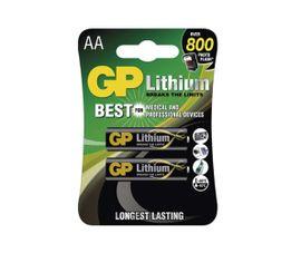 Batéria GP líthiová AA, 2ks/ Blister