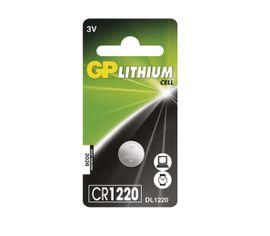 Batéria GP líthiová gombíková CR1220, 1 ks/ Blister