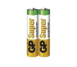 Batéria GP super alkalická AAA, 2ks/ Fólia