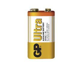 Batéria GP ultra alkalická 9V blok, 1ks/ Fólia