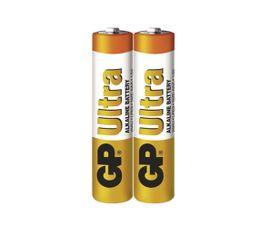 Batéria GP ultra alkalická AAA, 2ks/ Fólia