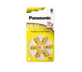 Baterie do náčúvacích prístrojov PANASONIC PR-10/6LB 6ks (PR70) typ10
