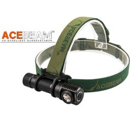 LED Čelovka Acebeam H20 - Čierna