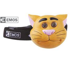 LED Čelovka EMOS Detská - Mačka