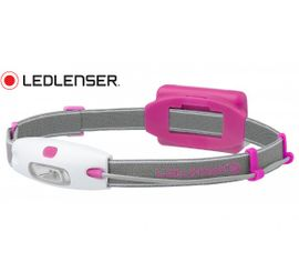 Čelovka Led Lenser NEO - Ružová