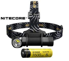 Čelovka Nitecore HC33 + akumulátor NITECORE 18650 3500mAh
