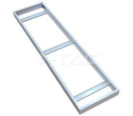 Hliníkový kryt V-TAC, pre uchytenie LED panelu 295x1195mm na strop