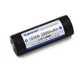 Keeppower 18500 2000mAh 3,7V, chránený, 4,2A
