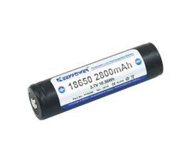 Keeppower 18650 2800mAh 3,7V chránený