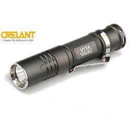 LED Baterka Crelant V11A XM-L U2