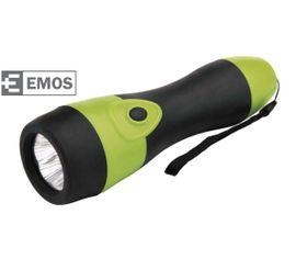 LED Baterka EMOS Gumové, 5x LED, na 2x D