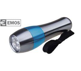 LED Baterka EMOS Hliníková, 9x LED, na 3x AAA