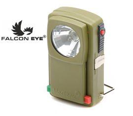 LED Baterka Falcon Eye 3008 kovová, kryptónová na 4,5 V, 3 Farby