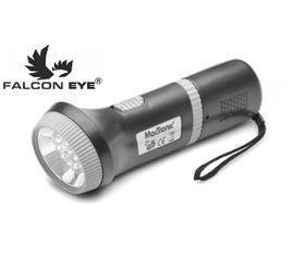 LED Baterka Falcon Eye 3208 LED, Nabíjateľná