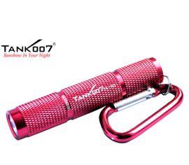 LED Baterka Tank007 TK701 červená