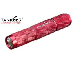LED Baterka Tank007 TK703 červená