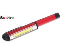 LED baterka v tvare pera Soshine TC11 - Červená