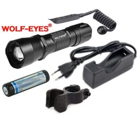 LED Baterka Wolf-Eyes Defender-III XP-L V5 v.2 Full Set