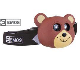 LED Čelovka EMOS Detská - Medveď