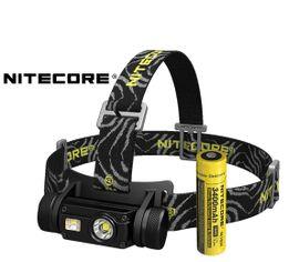 LED Čelovka Nitecore HC65, USB nabíjateľná + aku. Li-ion 18650 3400mAh
