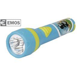 LED Detská baterka EMOS plastové - Krtko, 3x LED, na 2x AA