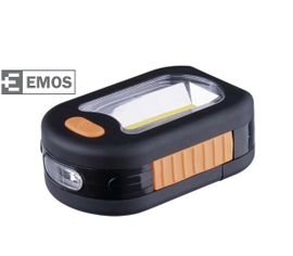 LED pracovná lampa EMOS 3 COB LED, na 3x AAA