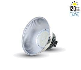 LED priemyselné svietidlo 120° 50W High Lumens