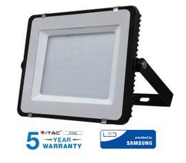 LED reflektor 150W 12000lm SAMSUNG CHIP Slim čierny - 5 ROČNÁ ZÁRUKA!