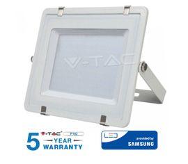 LED reflektor 200W 16000lm SAMSUNG CHIP Slim biely - 5 ROČNÁ ZÁRUKA!