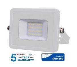 LED reflektor 20W 1600lm SAMSUNG CHIP Slim biely - 5 ROČNÁ ZÁRUKA!