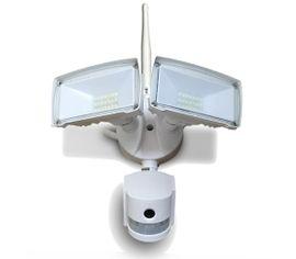 LED reflektor 3v1 (senzor pohybu, kamera, WiFi) 18W 600lm biely
