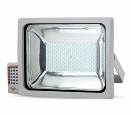 LED reflektor RGB 30W s RF diaľkovým ovládaním 2400lm šedý