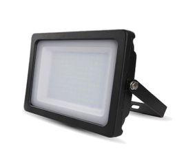 LED reflektor SMD 100W SLIM čierny