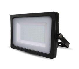 LED reflektor SMD 150W SLIM čierny