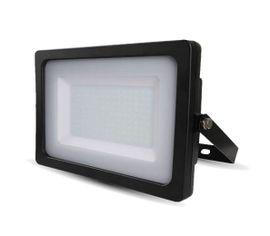 LED reflektor SMD 200W SLIM čierny