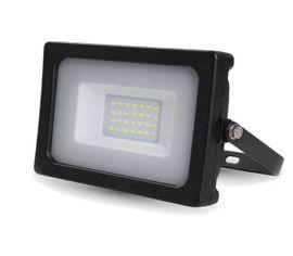 LED reflektor SMD 20W SLIM čierny
