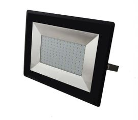LED reflektor V-TAC 100W, 8500lm, E-SERIES, SLIM, čierny