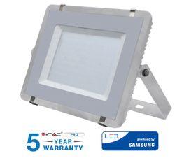 LED reflektor V-TAC 150W, 12000lm, SAMSUNG CHIP, Slim, šedý - 5 ROČNÁ ZÁRUKA!